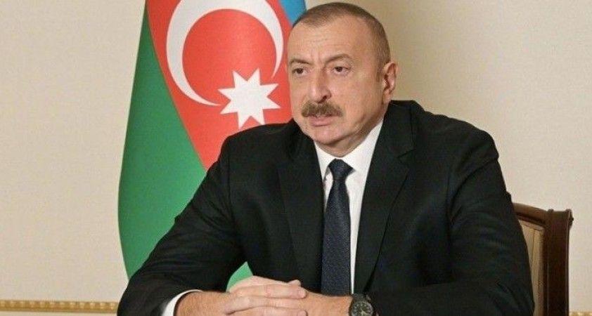 Azerbaycan Cumhurbaşkanı Aliyev, Rusya Devlet Başkanı Putin ile telefonda görüştü