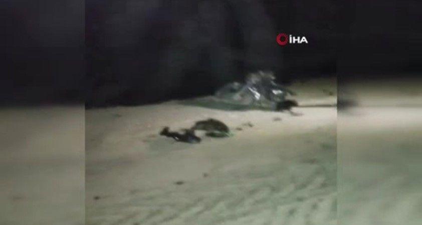 Afrin'de bomba yüklü motosiklet patladı: 1 ölü, 2 yaralı