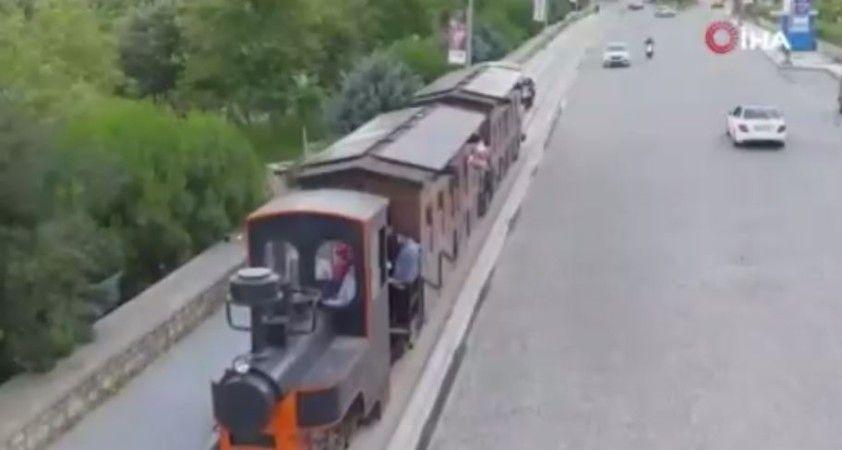 Yüzyıllık tren yeniden raylarda