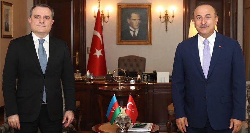 Azerbaycan Dışişleri Bakanı Bayramov'dan, Dışişleri Bakanı Çavuşoğlu'na taziye telefonu