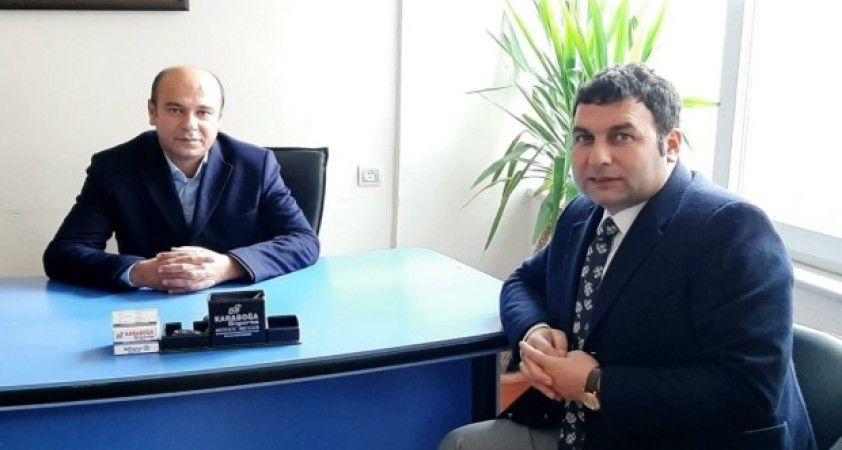 Başkan Yıldırım CHP ilçe Başkanı Acar ile bir araya geldi