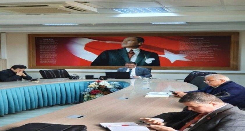 Sinop'ta müdürler çevirim içi toplandı