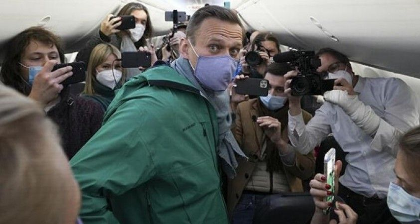 ABD'den Rus muhalif Navalny'ın gözaltına alınmasına tepki