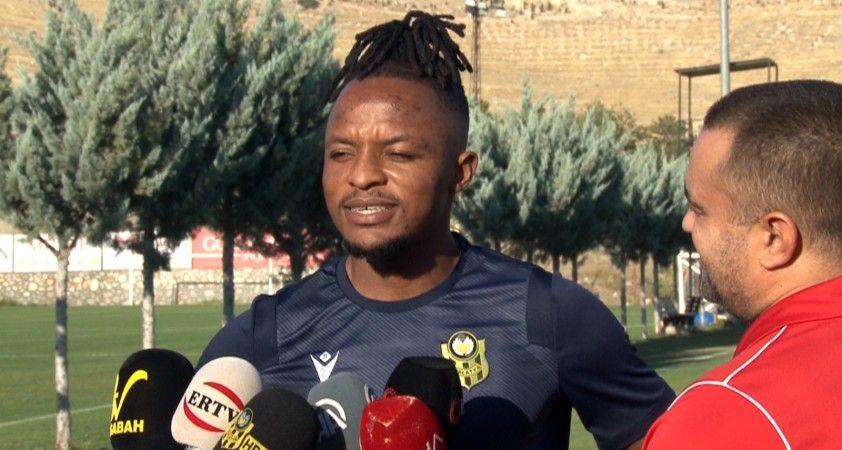 Walter Bwalya: 'Yeni Malatyaspor'da olduğum için mutluyum'
