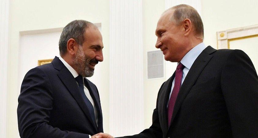 Rusya Devlet Başkanı Putin, Ermenistan Başbakanı Paşinyan ile telefonda görüştü