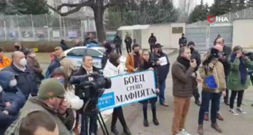 Navalny'nin serbest bırakılması için Bulgaristan'da gösteri düzenlendi