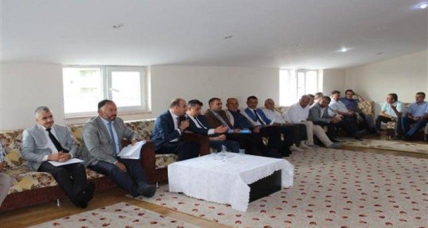 Şubat ayı din görevlileri toplantısı yapıldı