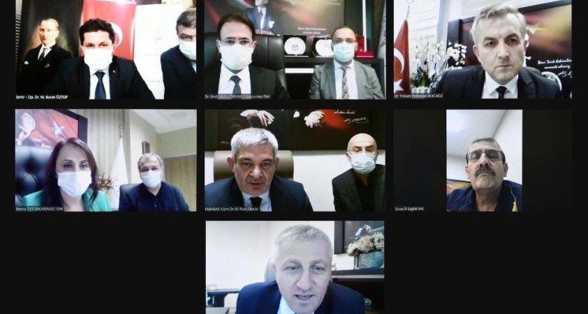 Bakan Koca, 7 ilin sağlık müdürü ile video konferansta bir araya geldi
