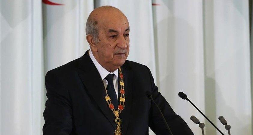 Cezayir Cumhurbaşkanı: Dış lobilerin orduyu hedef alan umutsuz kampanyaları var