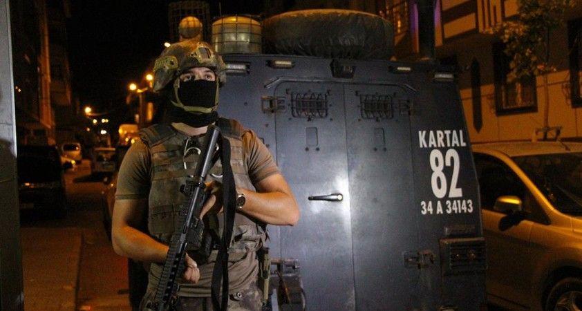 İstanbul'da terör örgütlerine yönelik eş zamanlı operasyon başlatıldı