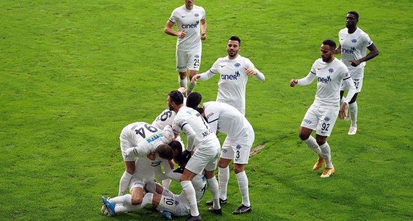 Süper Lig: Kasımpaşa: 2 - DG Sivasspor: 0 (İlk yarı)