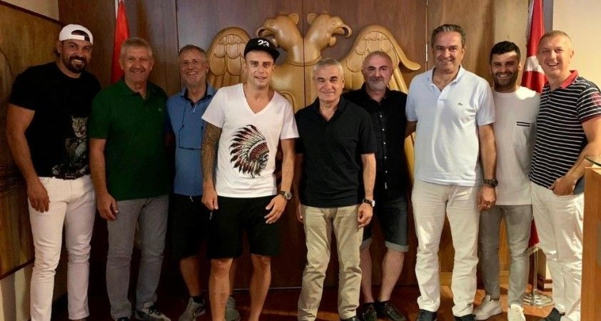 Kamil Grosicki'den Sivasspor'a ziyaret