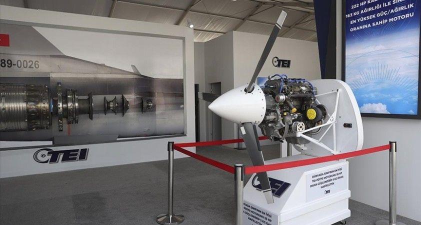 Türkiye'nin yeni İHA motoru ilk kez TEKNOFEST'te