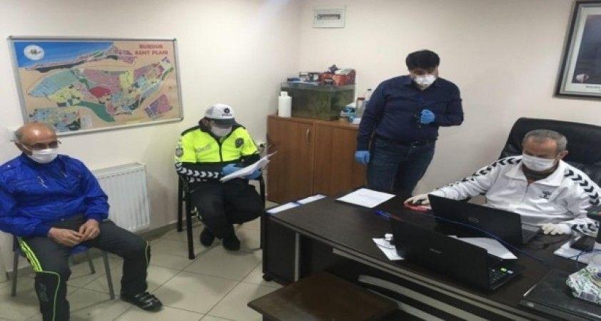Burdur' da Seyahat İzin Kurulu göreve başladı