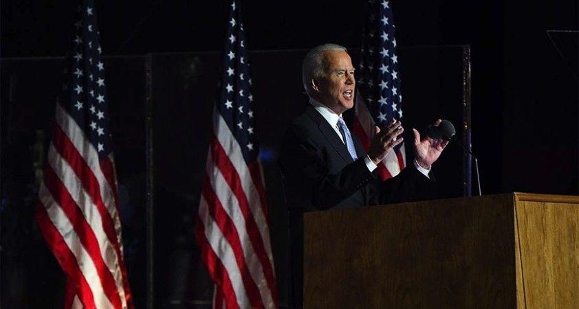 ABD'de seçilmiş Başkan Biden bugün yemin ederek görevine başlayacak