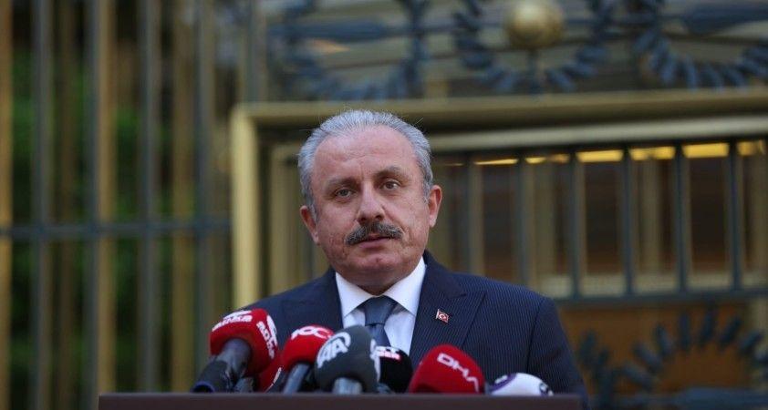TBMM Başkanı Şentop, Özbekistan Senato Başkanı Narbayeva ile görüştü