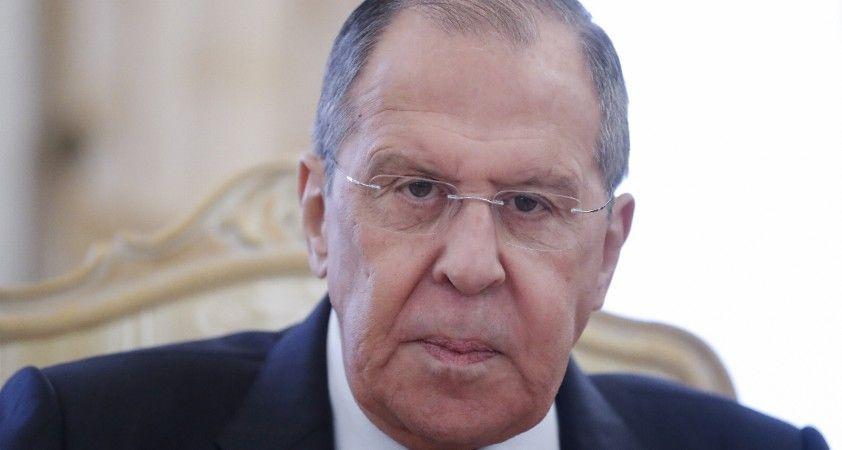 Lavrov'dan Afganistan'a komşu ülkelere