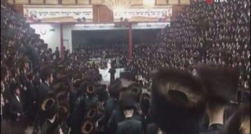 ABD'de fanatik Yahudiler düğünde Covid-19 önlemlerini hiçe saydı