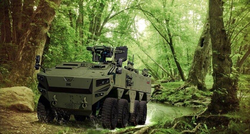 Türkiye'nin yeni zırhlı aracı Altuğ 8x8 göreve hazırlanıyor