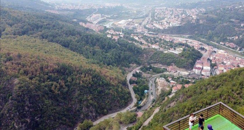 Batı Karadeniz'in yeni gözdesi 'orman denizi' manzaralı 'Ihlamur Teras'
