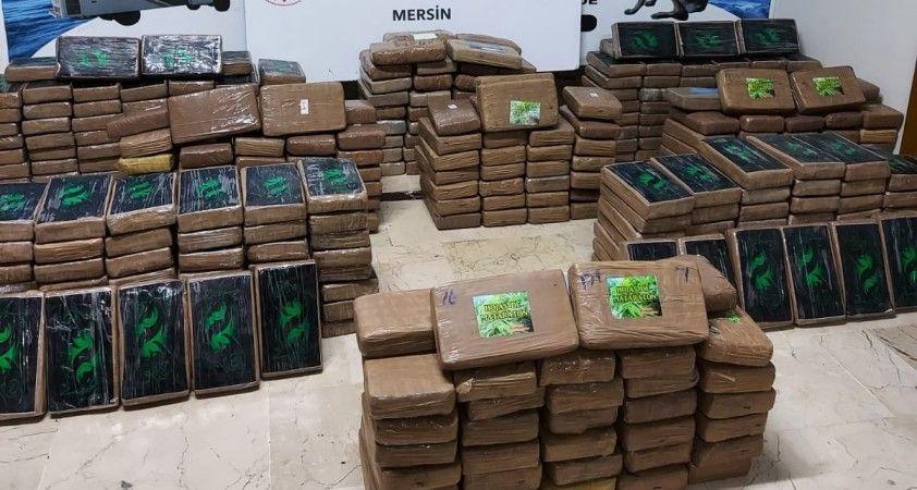 """Bakan Muş: """"Mersin Limanı'nda 463 kilogram kokain ele geçirildi"""