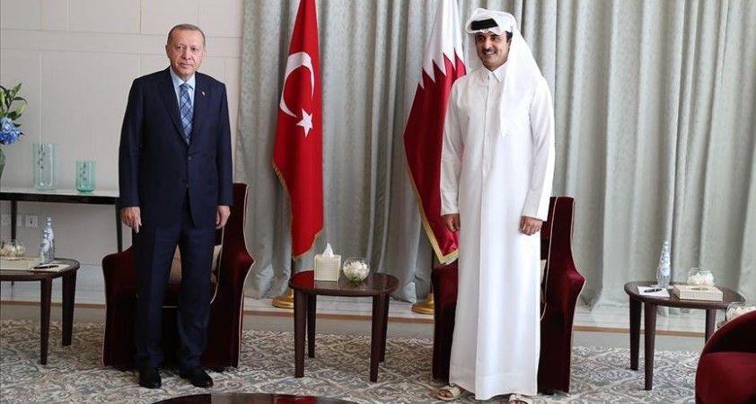 Katar Emiri Al Sani: Araplar ve Türkiye'nin ortak kültürel mirası bölge istikrarı için yapıcı iş birliği tesis ediyor