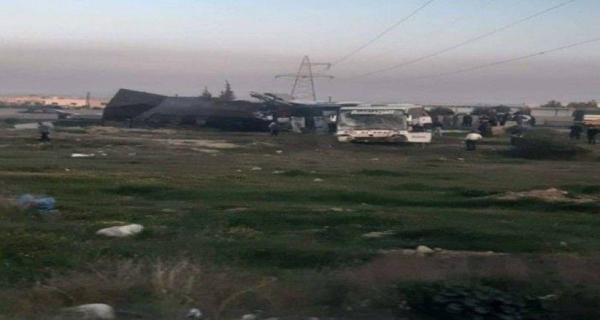 Şam'da yakıt tankeri ile iki yolcu otobüsü çarpıştı: 30 ölü