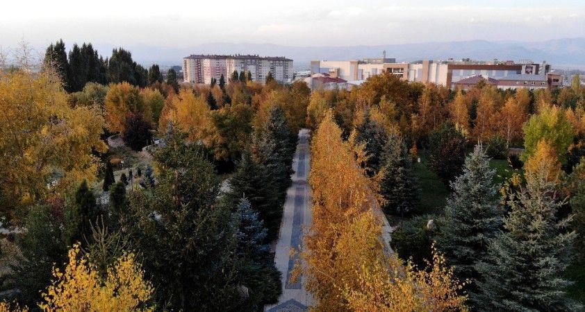 Erzurum'dan eşsiz sonbahar manzaraları