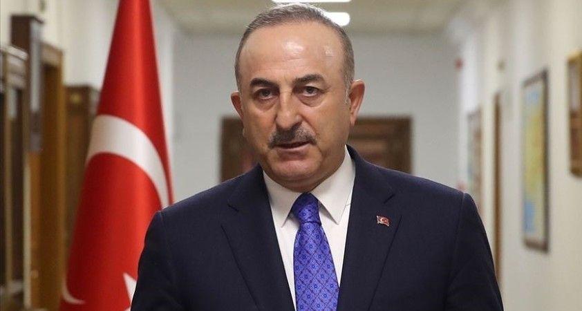 Dışişleri Bakanı Çavuşoğlu: Türkiye'nin Bosna Hersek'in siyasi birliği ve toprak bütünlüğüne desteği tam