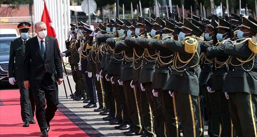 Fransız basını Cumhurbaşkanı Erdoğan'ın Afrika ziyaretini yakından takip ediyor