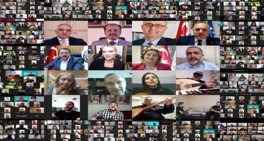Kosova'da sağlık çalışanlarına internetten saygı konseri