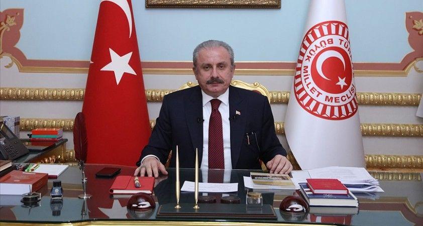 TBMM Başkanı Şentop, Azerbaycan-Pakistan-Türkiye Üçlü Parlamento Başkanları Birinci Toplantısı'na katıldı