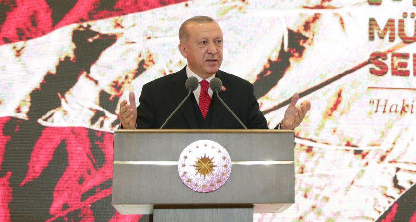 Cumhurbaşkanı Erdoğan: En büyük gücümüz tarihi mirasımız
