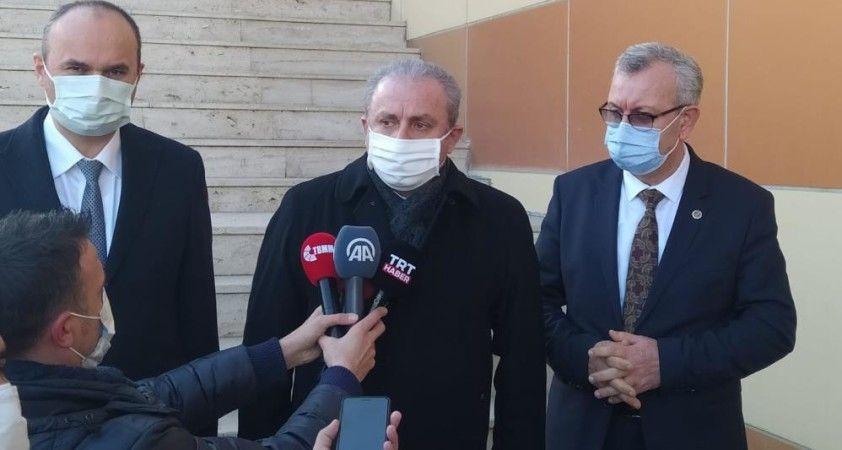 TBMM Başkanı Şentop'tan aşı daveti