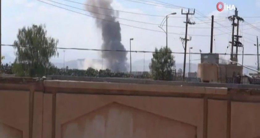 Suudi Arabistan öncülüğündeki koalisyondan Sana Havalimanına hava saldırısı