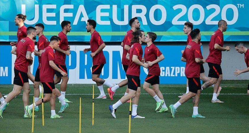 A Milli Takım, İsviçre maçı hazırlıklarını tamamladı