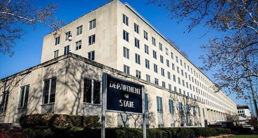 ABD'den 'Doğu Akdeniz'e dair diyalog girişimlerinden memnunuz' açıklaması