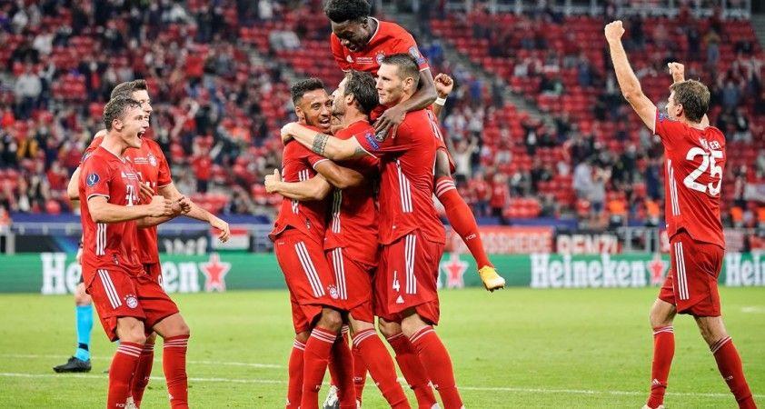 UEFA Süper Kupa'nın sahibi Bayern Münih