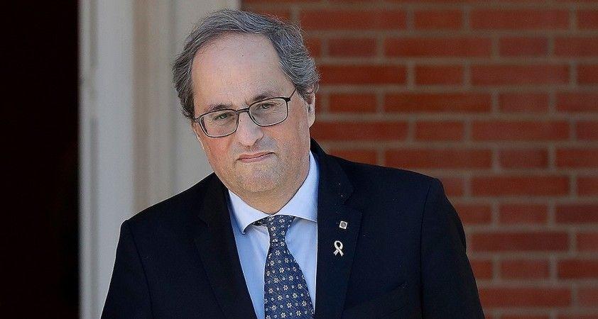 Görevden alınan Katalonya Başkanı Torra hukuki mücadelesini Avrupa'ya taşıyacak