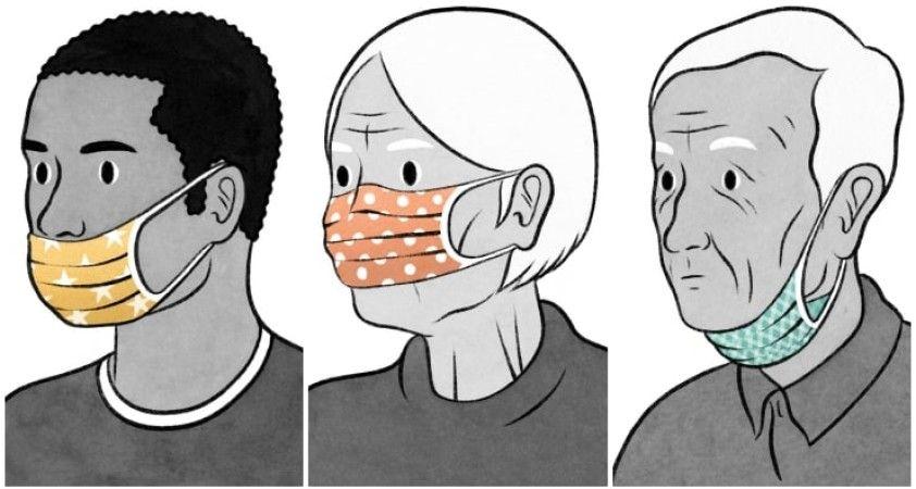 Bilim insanlarına göre 'Burnu açıkta bırakmak, maske takmamakla eş'