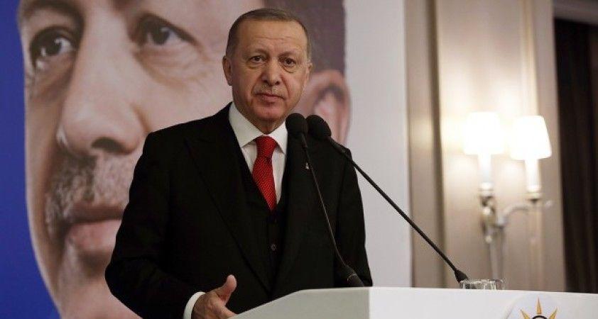 Cumhurbaşkanı Erdoğan: Ülkemize saldıran terör örgütlerinin yanında yer alanların maskeleri birer birer düşüyor