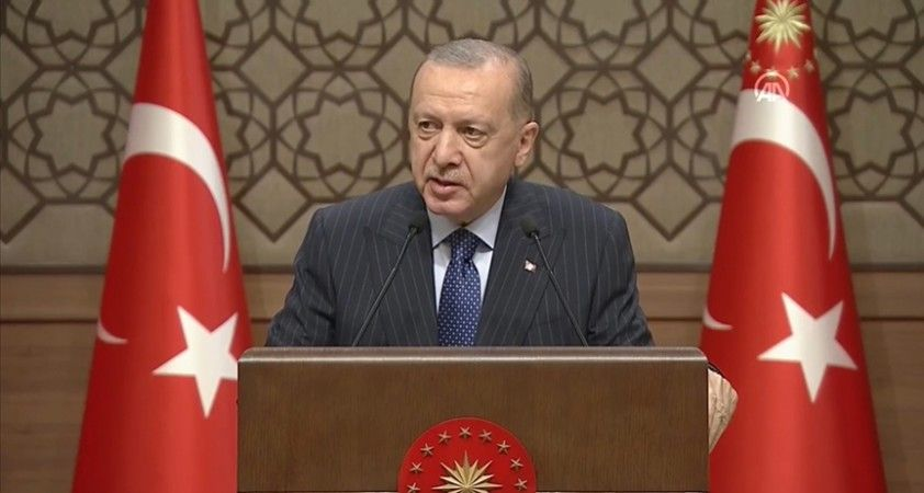 Cumhurbaşkanı Erdoğan: 2023, Türkiye'nin ve Türk milletinin yeniden şahlanışının sembolüdür