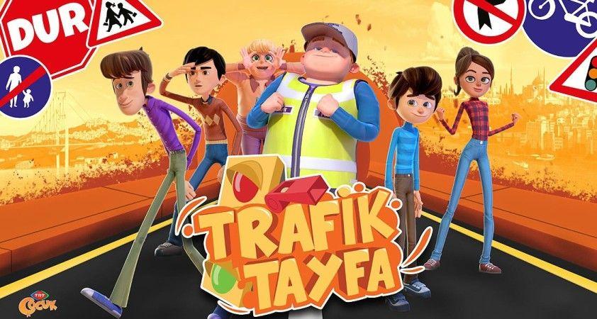 Çocuklara trafik kurallarını 'Trafik Tayfa' öğretecek