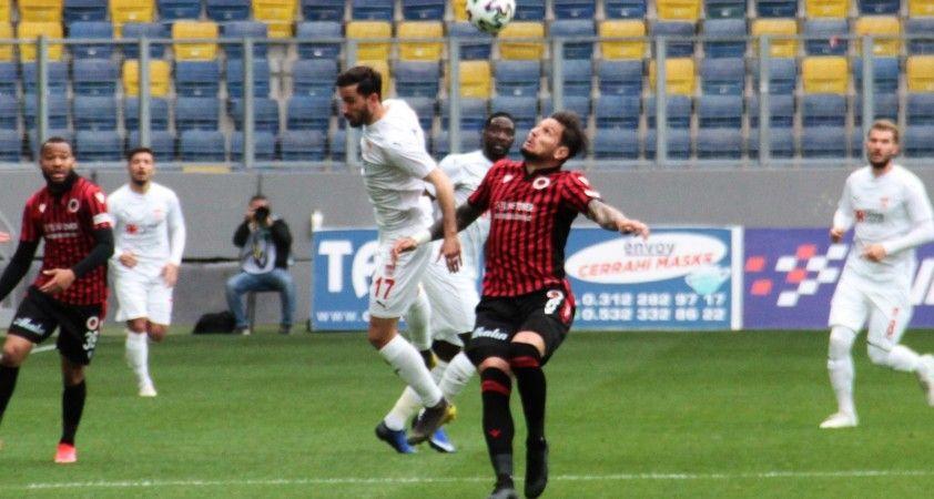 Süper Lig: Gençlerbirliği: 2 - Sivasspor: 0 (İlk yarı)