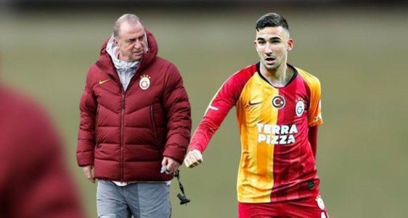Galatasaray'da 17 yaşındaki Emin Bayram sahaya kaptan çıktı