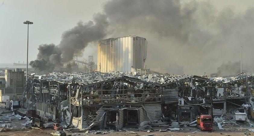 Lübnan Beyrut Limanı'ndaki 'tarihi' patlamanın şokunu yaşıyor