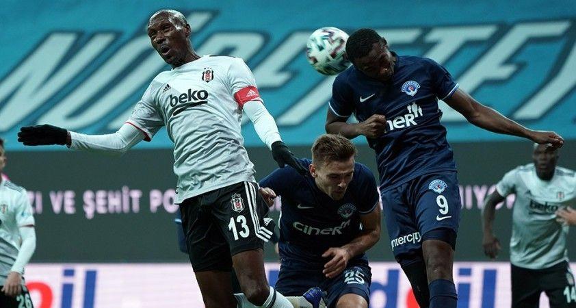 Süper Lig: Beşiktaş: 1 - Kasımpaşa: 0 (İlk yarı)