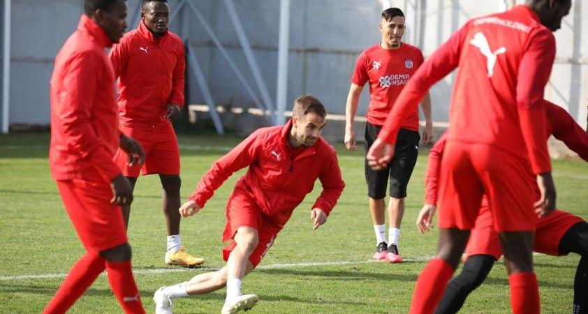 Sivasspor, Denizlispor maçı hazırlıklarını sürdürüyor