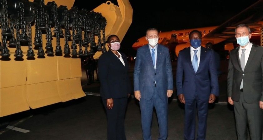 Türkiye'den Togo'ya 2 Mekanik Mayın Temizleme Teçhizatı teslim edildi