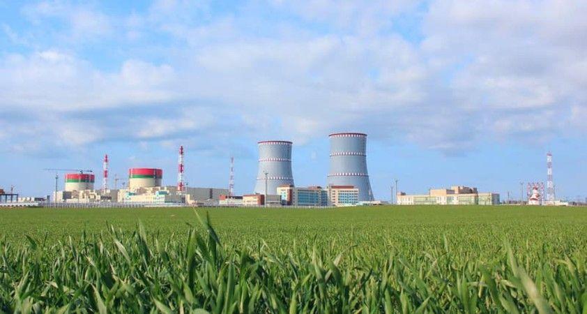 Belarus Nükleer Santralinin ilk güç ünitesi tam kapasite faaliyete geçti